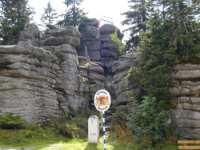 Bayerischer Wald Berge - Bergtour zum Dreisessel im Dreiländereck