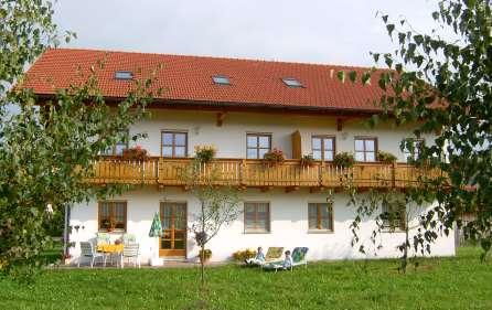 Aubauernhof der Familie Vogl in Radling