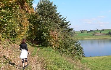Fastenwandern Bayerischer Wald Natur See