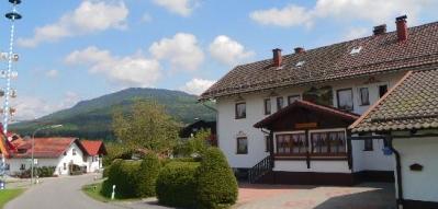 Gästehaus Jutta in Lindberg Pension Ansicht