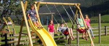 Kinderhotel im Bayerischen Wald Kinder Spielplatz