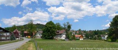 Motoraddhotels Bayern Motorradtouren Bayerischer Wald Landschaft
