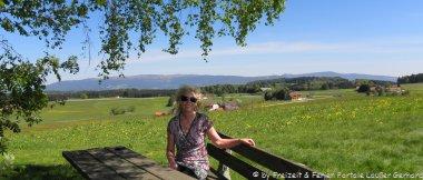 Wanderhotels im Bayerischen Wald Rastplatz Wandern