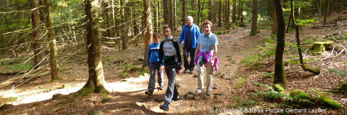 Aktivurlaub im Bayerischen Wald