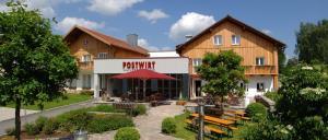 Postwirt Wellnesshotel Grafenau Landgasthof mit Biergarten