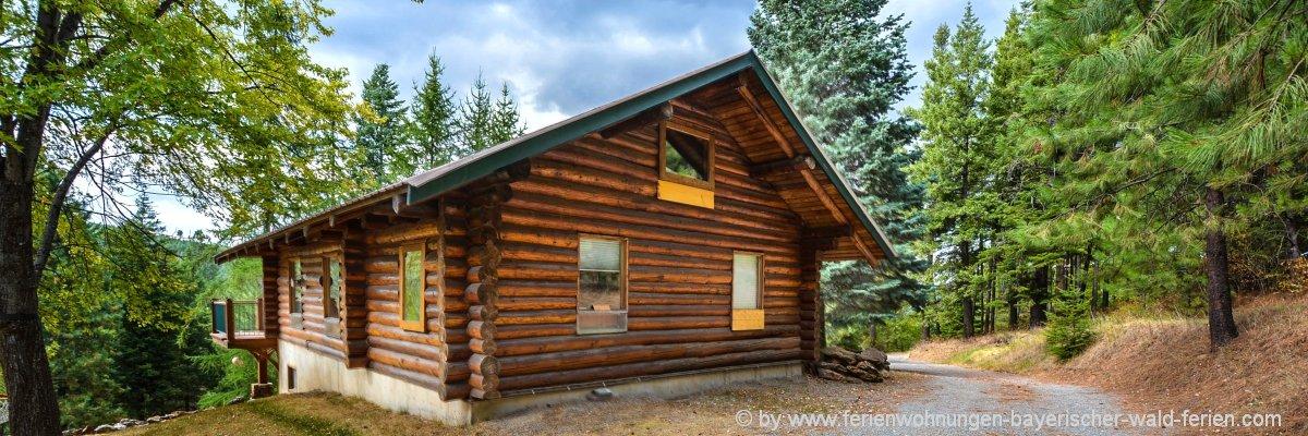 Bayerischer Wald Blockhütte mieten in Bayern