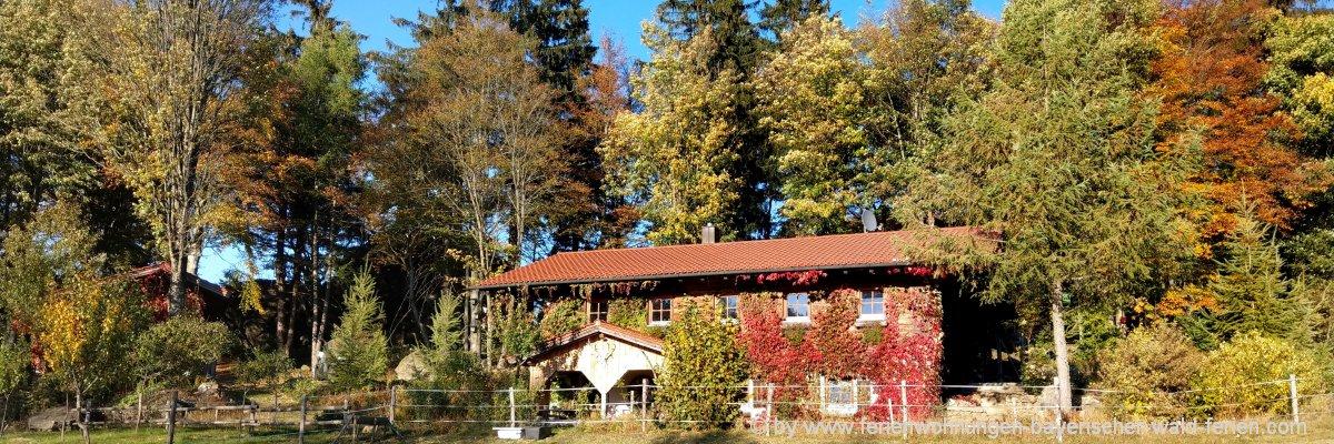 Selbstversorgerhütten & Selbstversorgerhäuser Oberpfalz