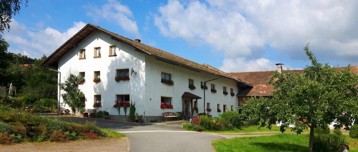 Ferienwohnung in Bad Kötzting Bauernhof zum Mitmachen