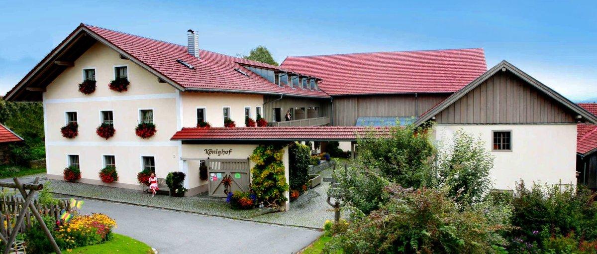 Bauernhofurlaub am Könighof Schweinhütt bei Zwiesel