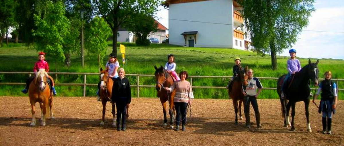 Ferienhof Kroner in Rinchnach Urlaub Bauernhof mit Ponys