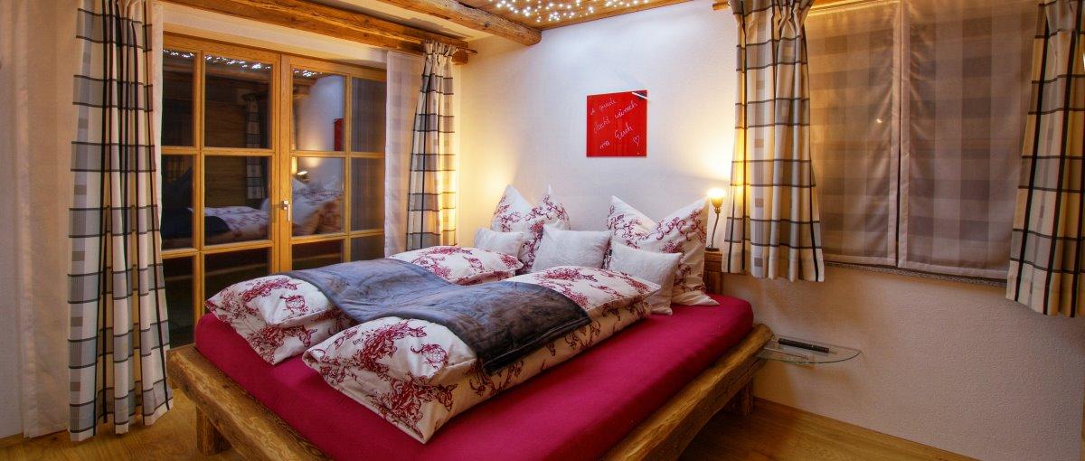 Luxus Blockhaus Ferienwohnung am Bauernhof bei Roding in der Oberpfalz