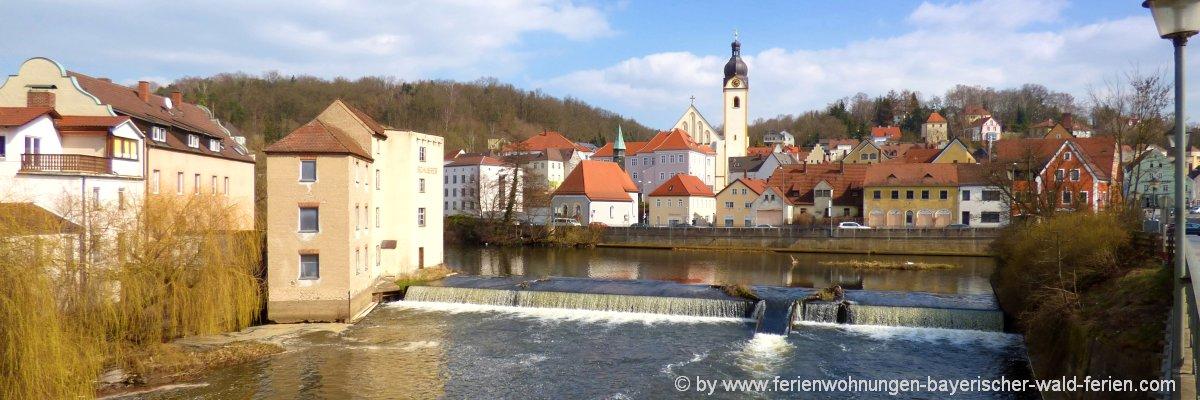 Stadt Schwandorf - Sehenswürdigkeiten in der Oberpfalz