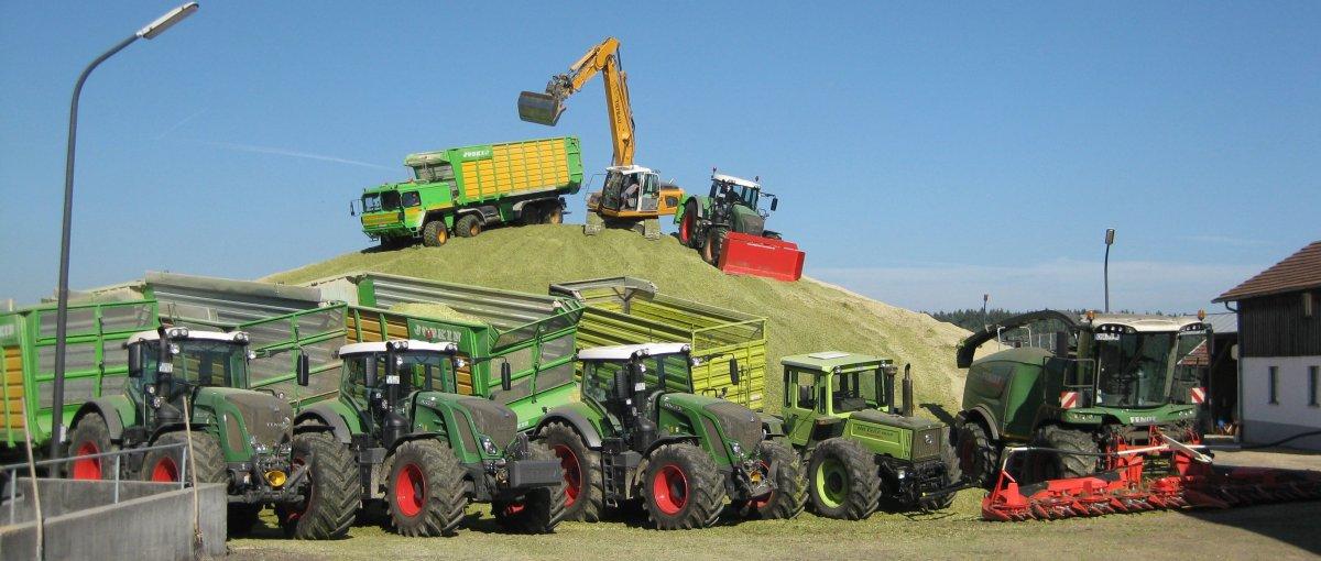 Bauernhofurlaub für Gruppen und Familien mit Traktor fahren