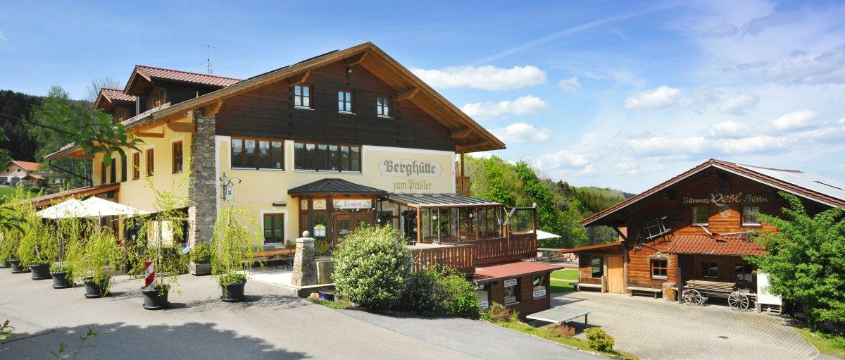 Bayerischer Wald Pröller Hütte bei Sankt Englmar
