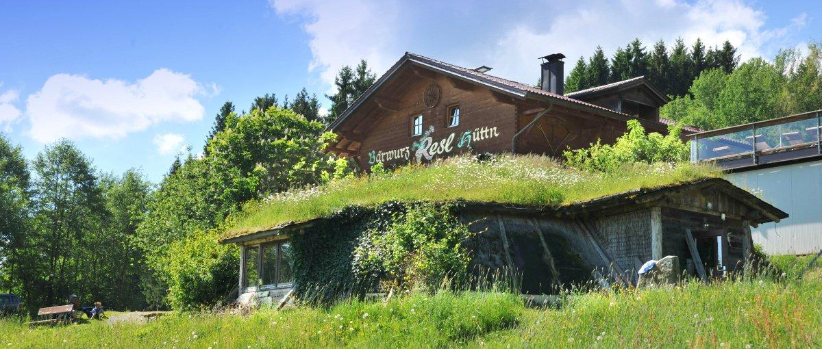 Berghütte zum feiern für 30, 40 bis 50 Personen