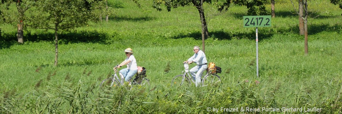 Radurlaub im Bayerischen Wald