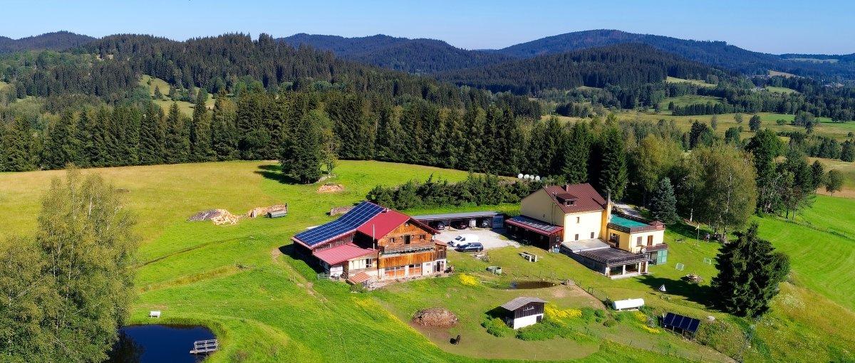 Bayerischer Wald Bauernhof Pension in Haidmühle bei Bischofsreut