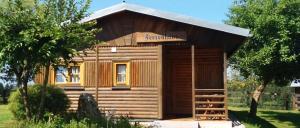 Blockhütte am See mieten in Bayern Hütte direkt am See
