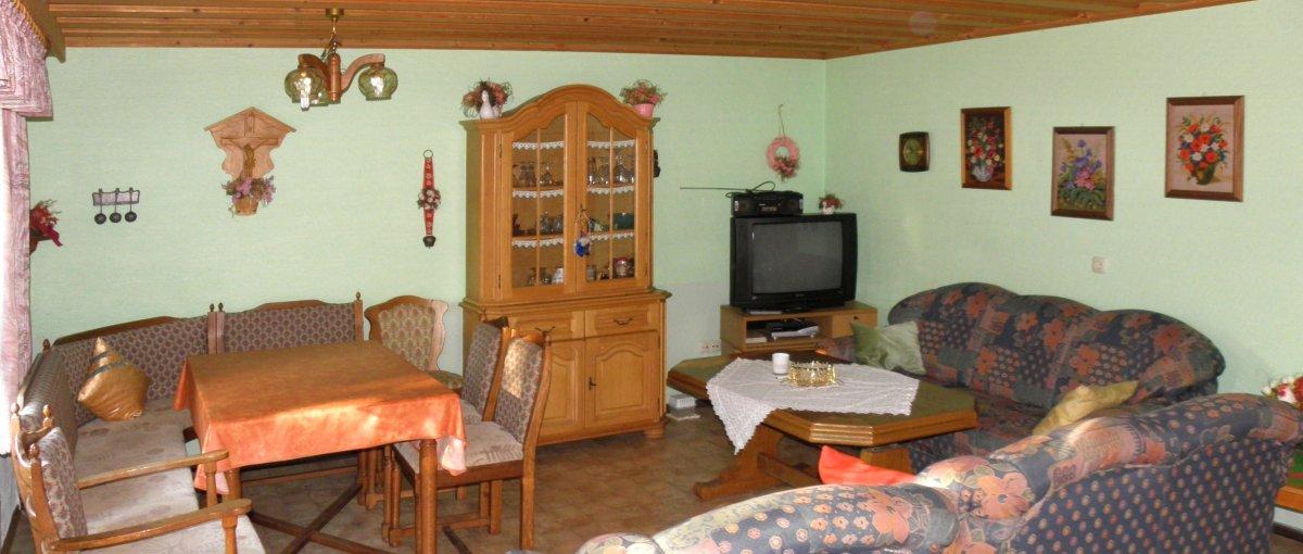 Günstiges 2 bis 3 Personen Ferienhaus und 2 bis 5 Personen Ferienwohnung nähe Regensburg