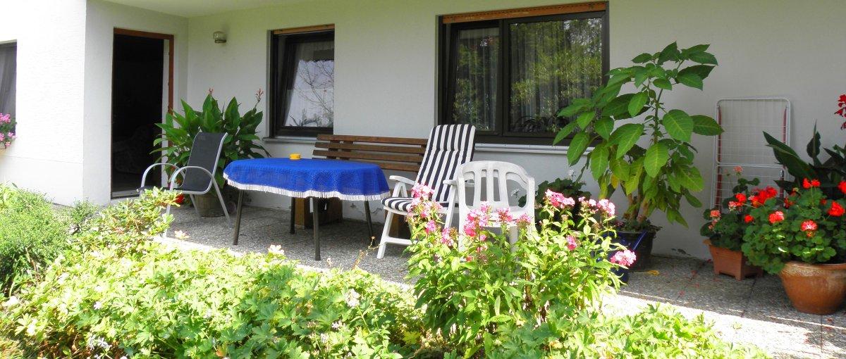 Ferienwohnung Sieber in Zell Urlaub im Ferienhaus günstig bei Regensburg mit Terrasse