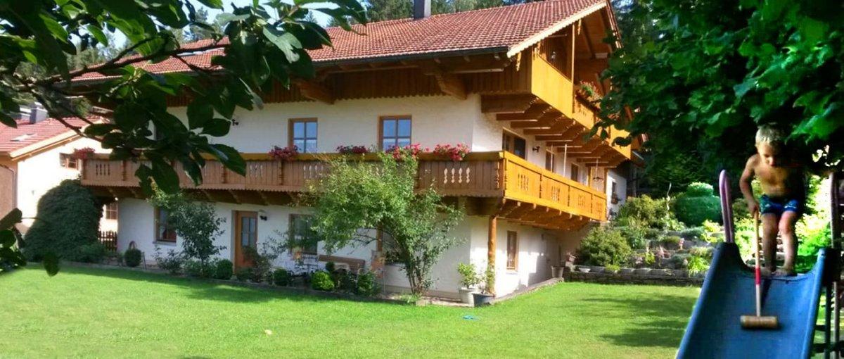 Ferienwohnung in Arrach Übernachtung bei Lam am Osser