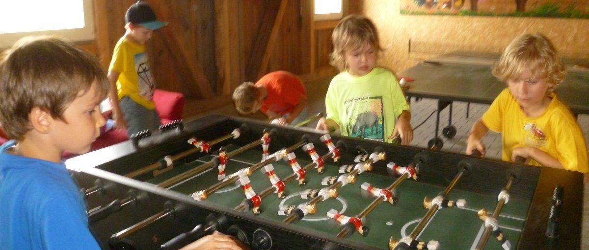 Bauernhof mit Spielscheune in Bayern Ferienhof bei Sattelbogen