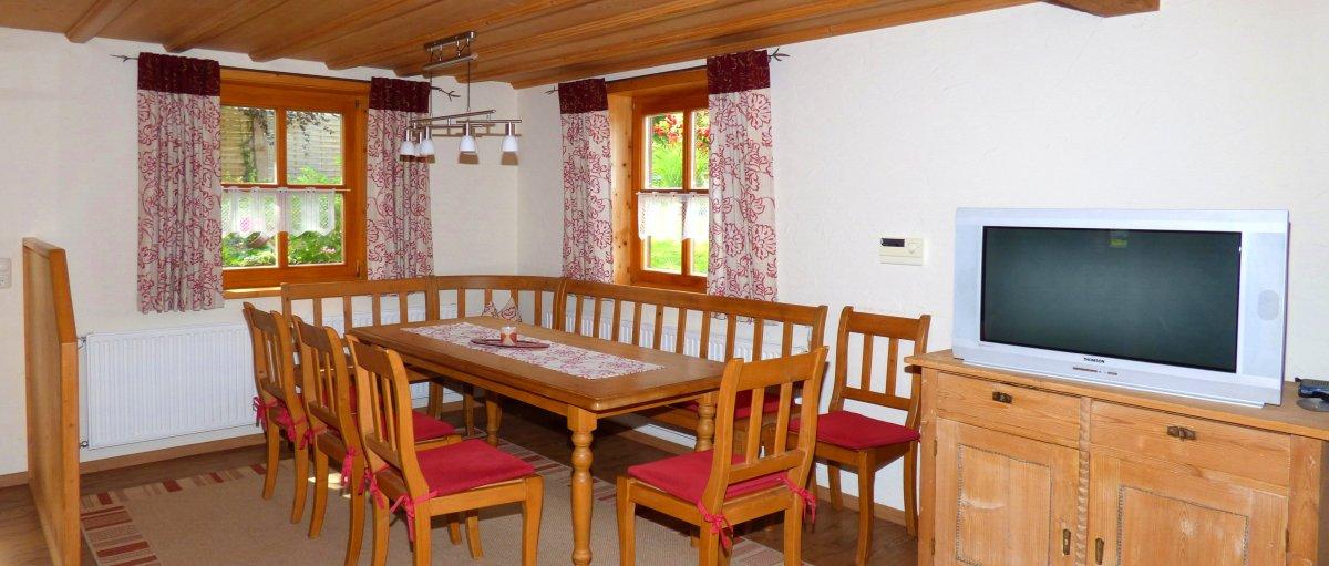Bayerischer Wald Gruppenhaus mit Halbpension / Frühstück