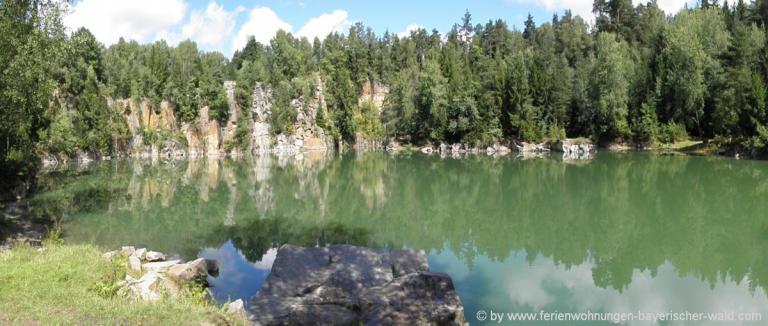 unterkunft-buechlberg-bayerischer-wald-steinbruch-see-ausflugsziele