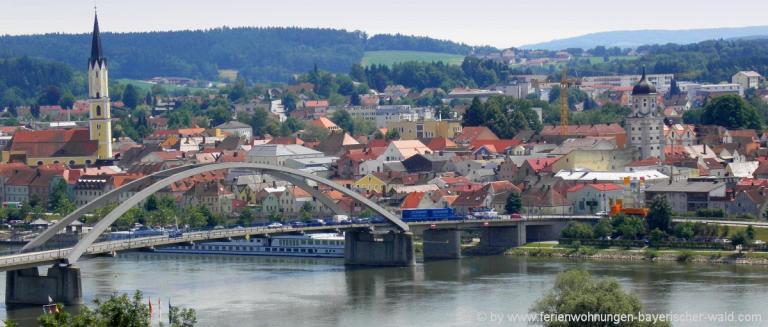 unterkunft-vilshofen-niederbayern-donaubruecke