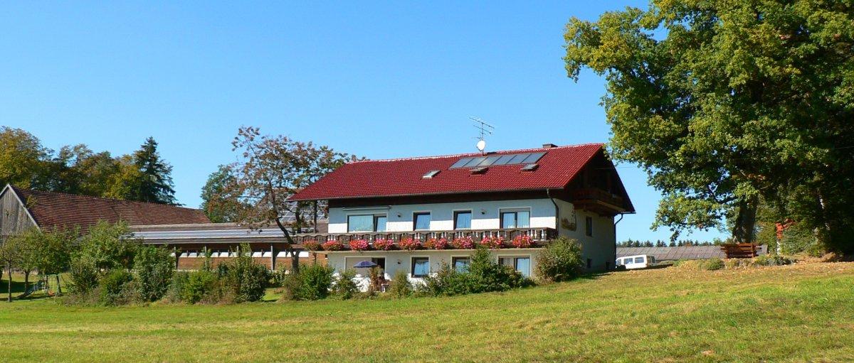 Urlaub am Bauernhof Wagner in Falkenstein ruhig und zentral