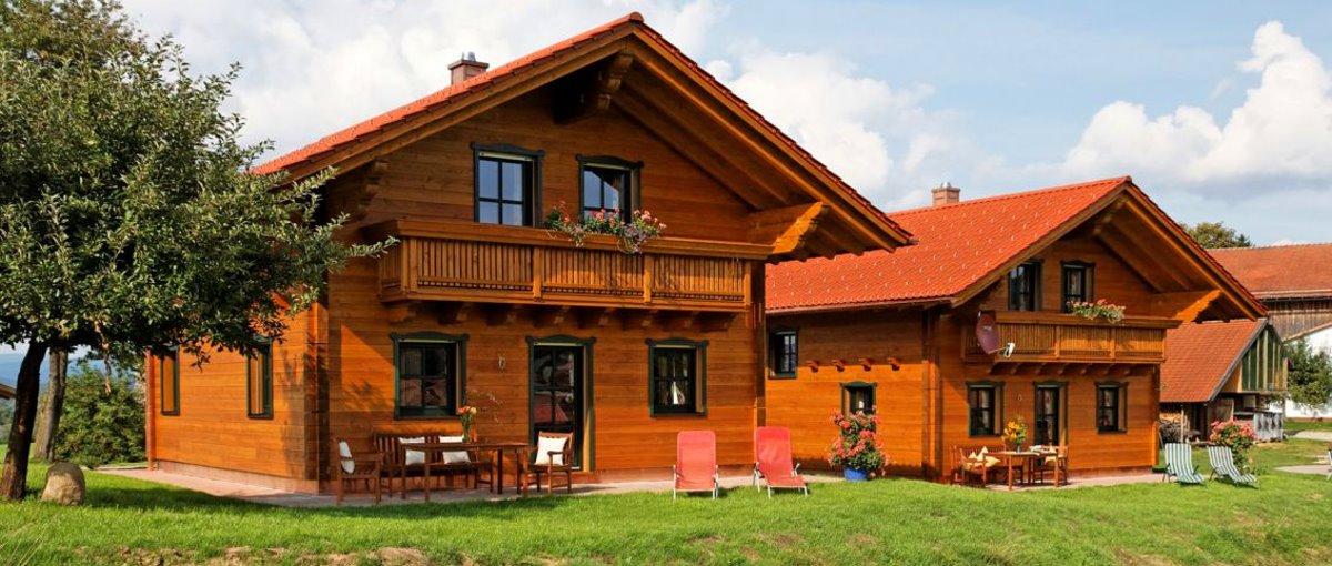 Wenzl Ferienhaus in Zwiesel Ferienhütten mit Wellness